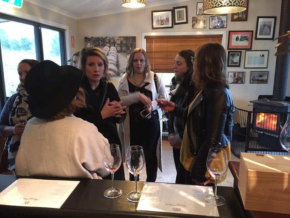 Daylesford Wine Tours teaching the teachers