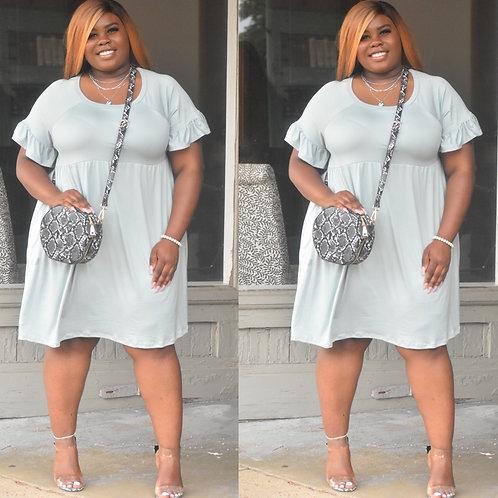 Liz Dress (sage)