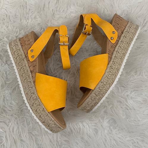 Cleo Sandal mustard