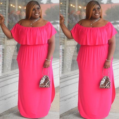 Kay Curvy (pink) Dress