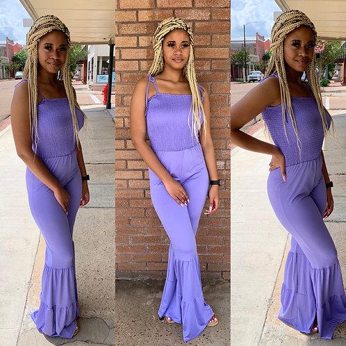 Delight purple Jumpsuit