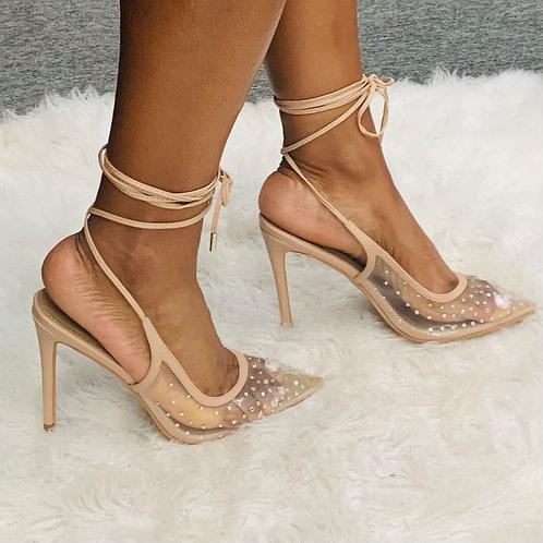 Clear Spark Heel