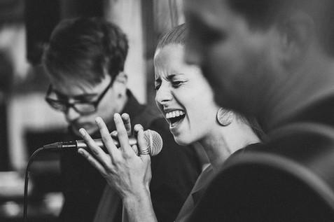 Hochzeitsfeier mit Live Band