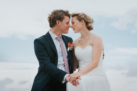 Am Strand ist's doch am schönsten! Hochzeitsreportage Ostsee - David Samuel Vogt