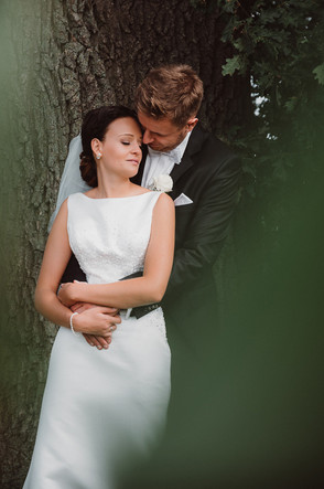 Im Feld unter der großen Eiche.  Hochzeitsreportage - David Samuel Vogt
