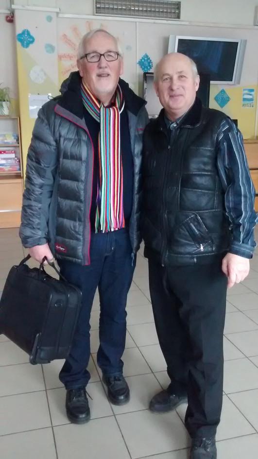 Rolf Pettersen and Anatoly Plyushko