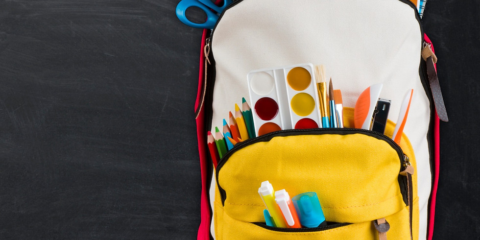 Get a backpack ready for school