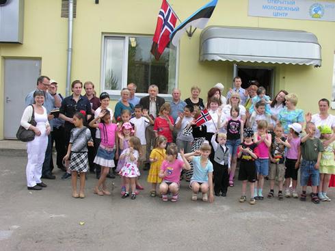 Guests from Royal Norwegian Embassy in Estonia, May 2010
