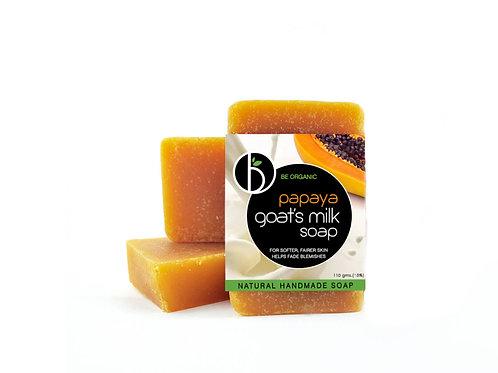 Papaya Goat's Milk Soap 110g