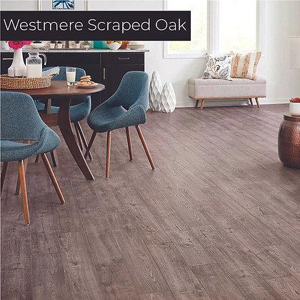 Westmere Scraped Oak Laminate Flooring, Sample