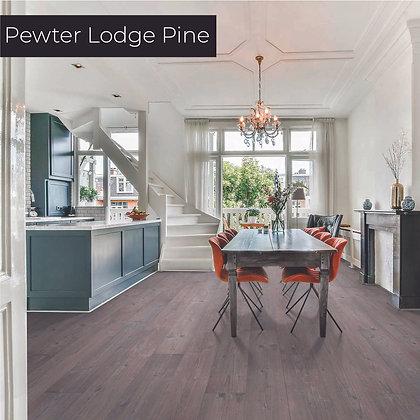 Pewter Lodge Pine Laminate Flooring, Sample