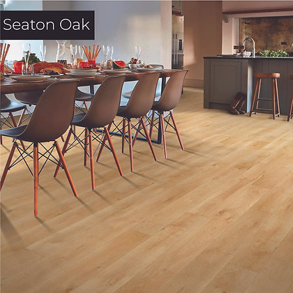 Seaton Oak Laminate Flooring, Sample