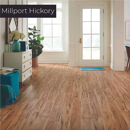 Millport Hickory Laminate Flooring, Sample