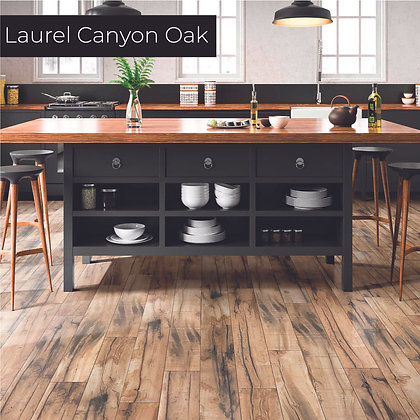 Laurel Canyon Oak Laminate Flooring, Sample