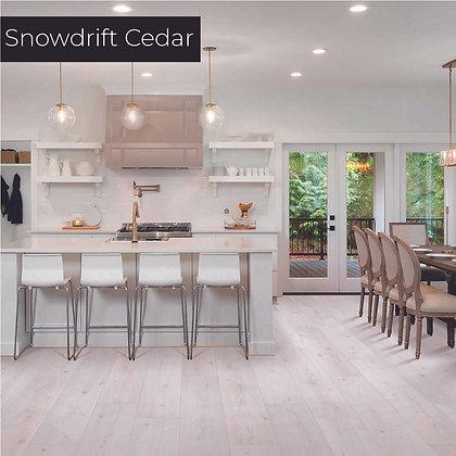 Snowdrift Cedar Laminate Flooring, Sample