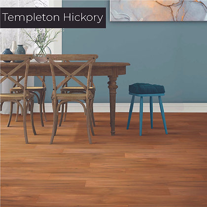 Templeton Hickory Laminate Flooring, Sample