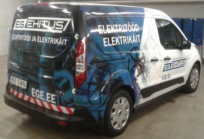 EG Ehitus minibuss