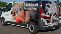 Gurmee Catering minibuss