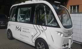 Modern Mobility isesõitev buss