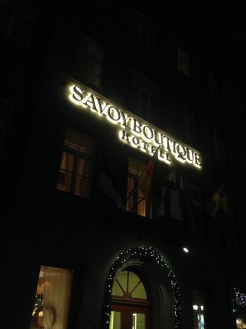 Savoy Boutique Hotell valgustähed