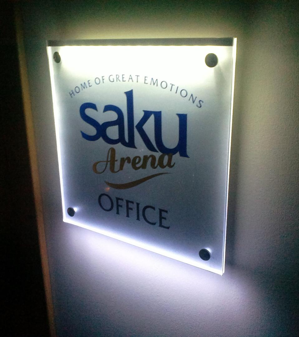 Saku Arena Office silt