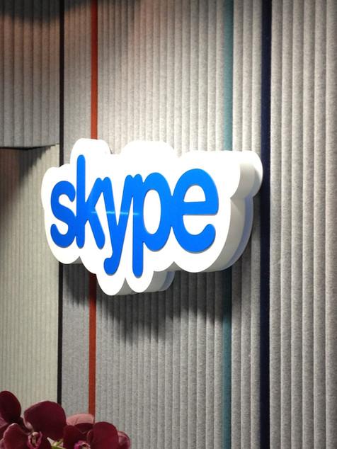 Skype valguskast
