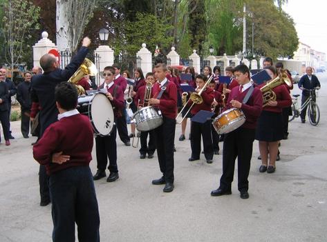 Banda Juvenil, abril de 2005