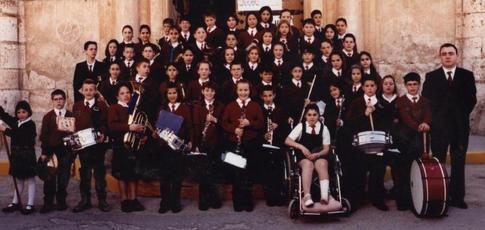 Banda Juvenil, 24 abril de 2002