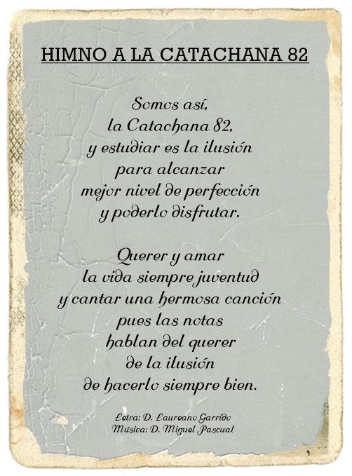 Letra del Himno