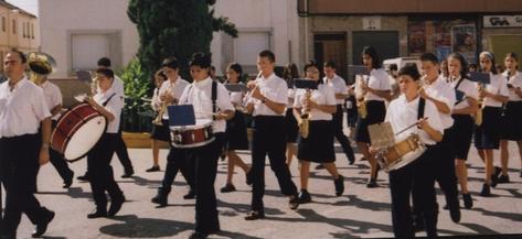 Banda Juvenil, agosto de 2004