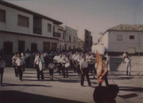 Primer pasacalles, 1982