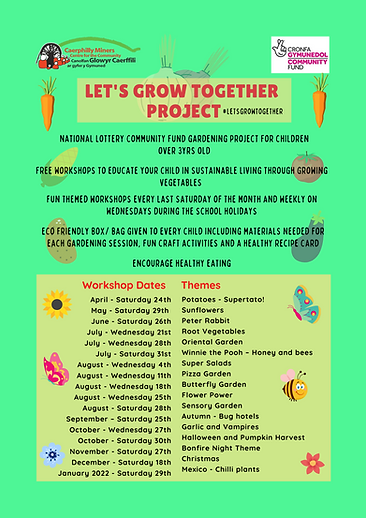 Let's grow together project - Juniors.pn
