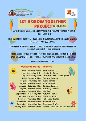 Let's grow together project - Infants.pn