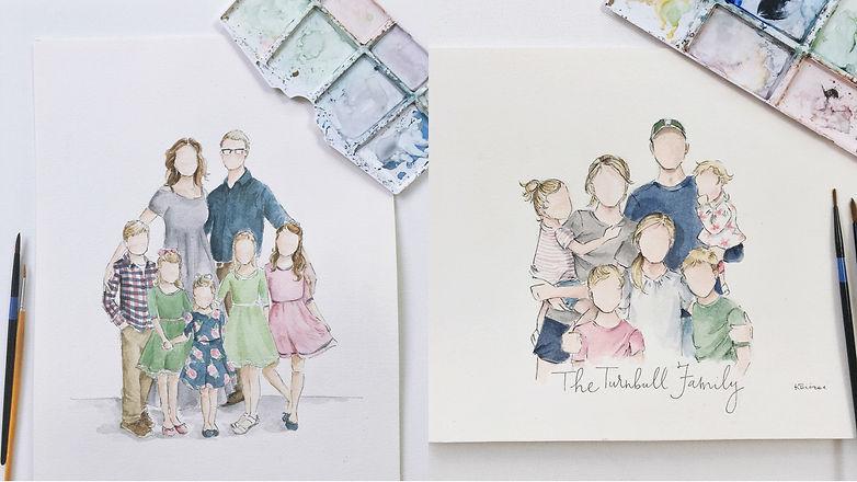 Restorative Family Portraits