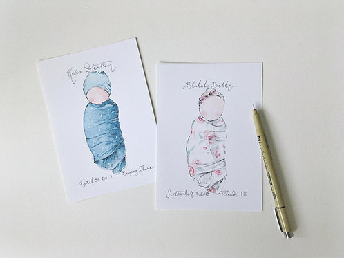 Customizable Baby Print