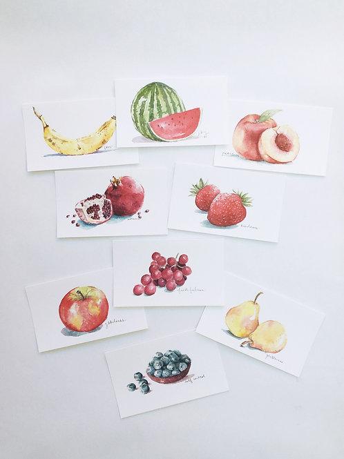 """""""Fruit"""" of the Spirit Watercolor Print Series"""