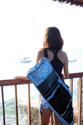 Long Bi Fins Funky bag by Freediving Planet