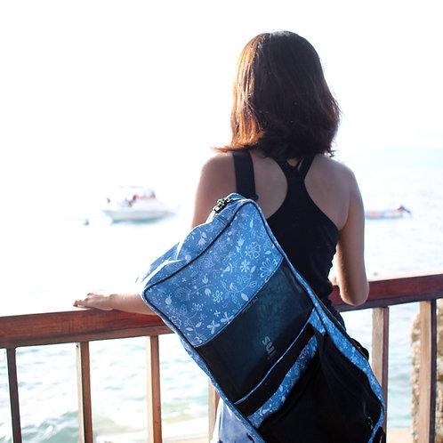 Long Bi Fins Funky bag by Freediving Planet