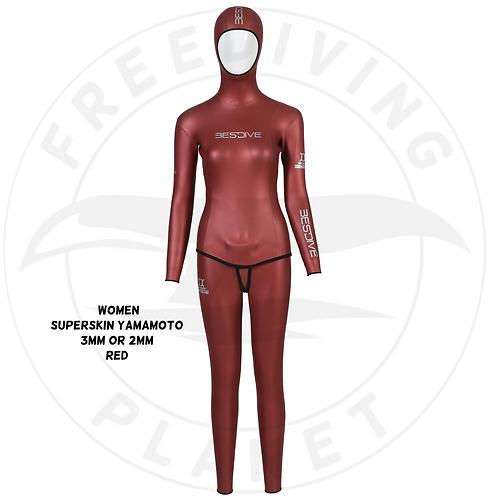 Women-SuperSkin Yamamoto 3mm or 2mm