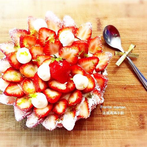 草莓千層  Tarte au fraise