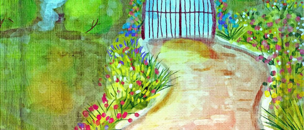 Jardin zen/authenticité et intégrité