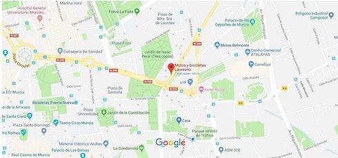 Motos y bicicletas Laureano - Google Map