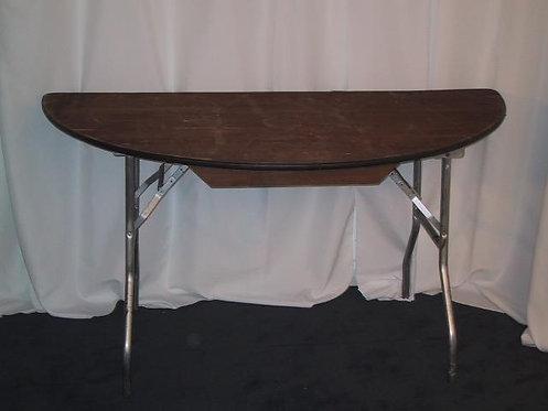 "Half Round 60"" Table"