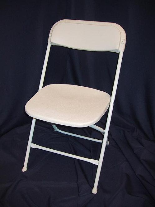 White Chair White Frame