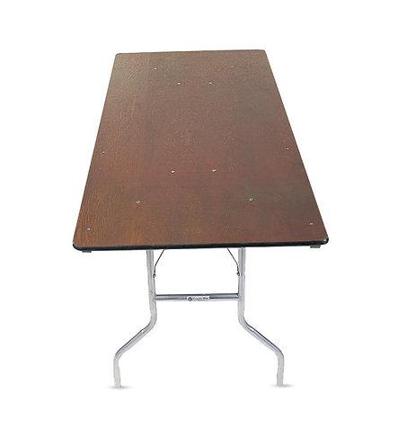 6 FT. Rectangular Table