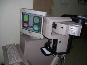 corneal topographer