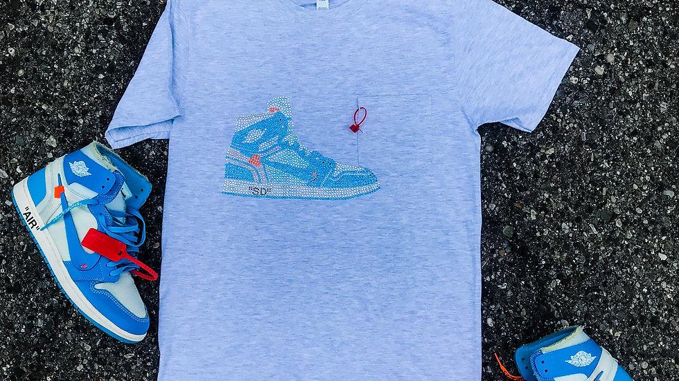 """SNEAKER-DUMMIE"" Rhinestone T-Shirt"