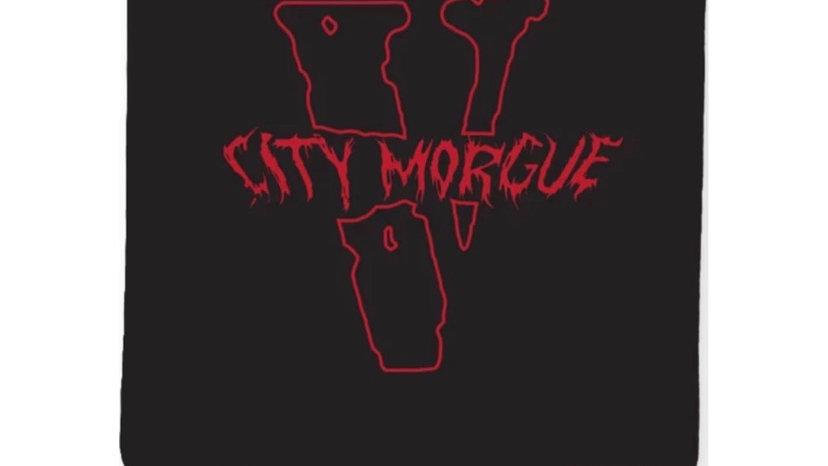 Vlone City Morgue Black Bandana