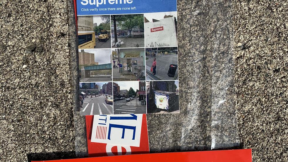 Supreme Captcha and Box Logo Stickers
