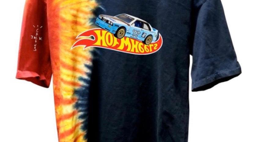 Travis Scott Tie-Dye Racing Shirt